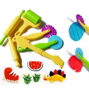 Kids Clay Tool & Modelling Set Of 6