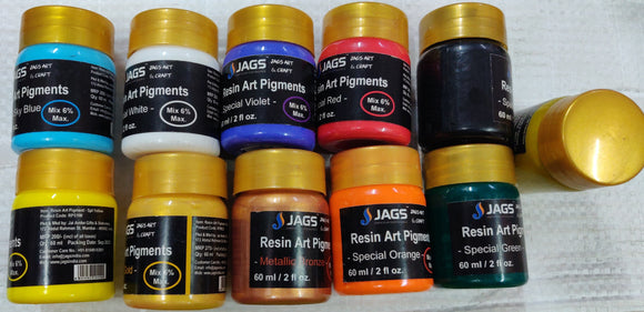 Jags Resin Art pigments - 60 ml