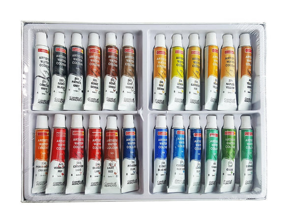 Camlin Kokuyo Artist Water Color Tube set