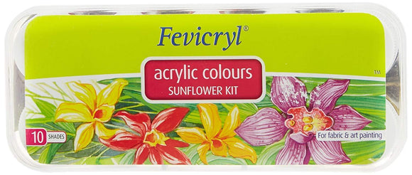 Fevicryl Acrylic Colour  Kit