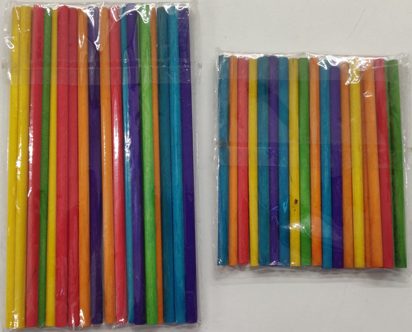 Color Wooden sticks