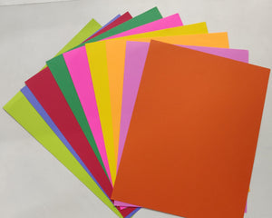Multicolor Origami Sheets - A4 size