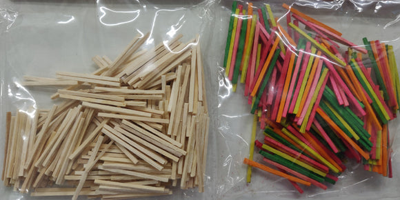 Craft Match Wood Sticks