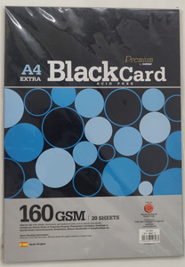Campap Black card/paper stock