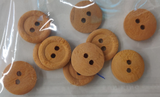 Wooden Buttons - Round