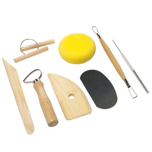 Pottery Tool Kit with Sponge