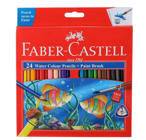 Faber Castell WaterColor Triangular Pencils