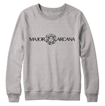 Load image into Gallery viewer, Major Arcana Light Grey Crewneck