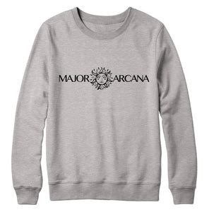 Major Arcana Light Grey Crewneck