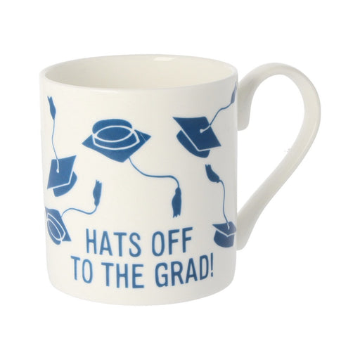 Hats Off To The Grad Personalised Mug - Mclaggan - Mclaggan