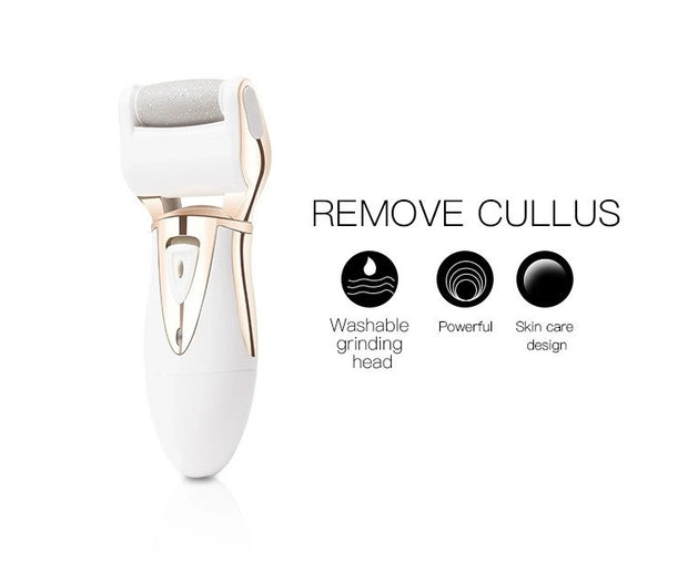 Gold Rechargeable Callus Remover