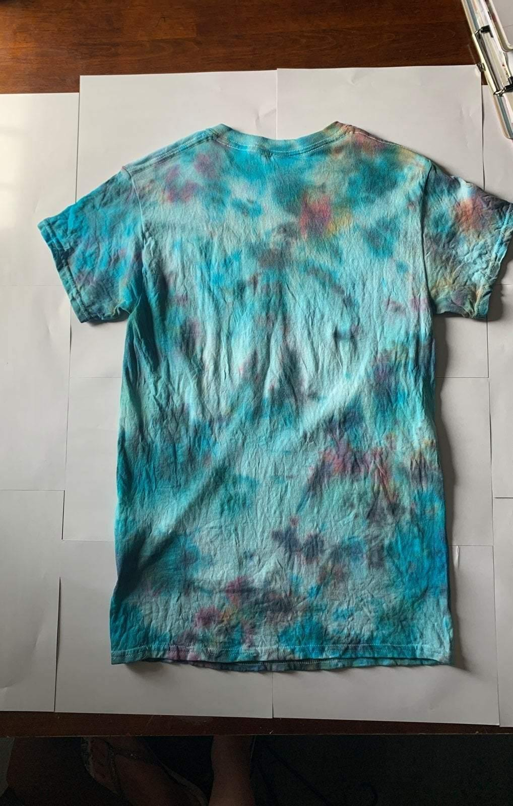 Adult popping Tie Dye Shirt