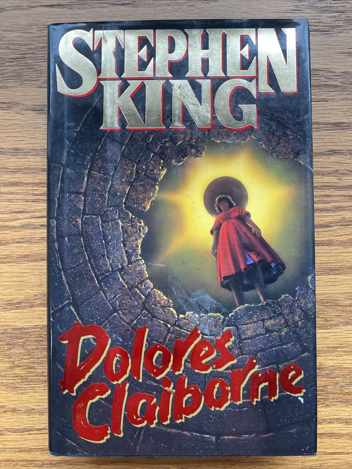 Stephen King Dolores Claiborne 1993 Hardcover Dust Jacket 1st Print Edition NICE
