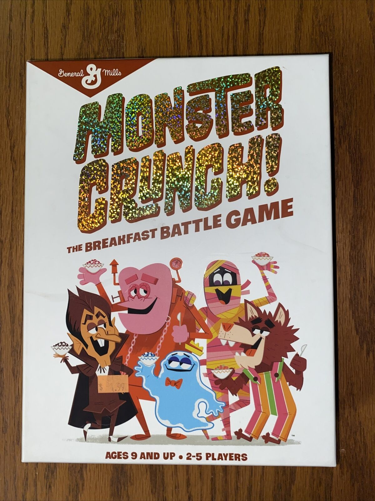 General Mills Monster Crunch! The Breakfast Battle Game NEW Universal Monsters