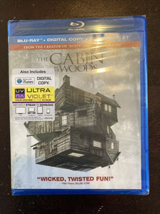 The Cabin in the Woods (Blu-ray Disc, 2012). NIP Sealed Includes Digital Copy!