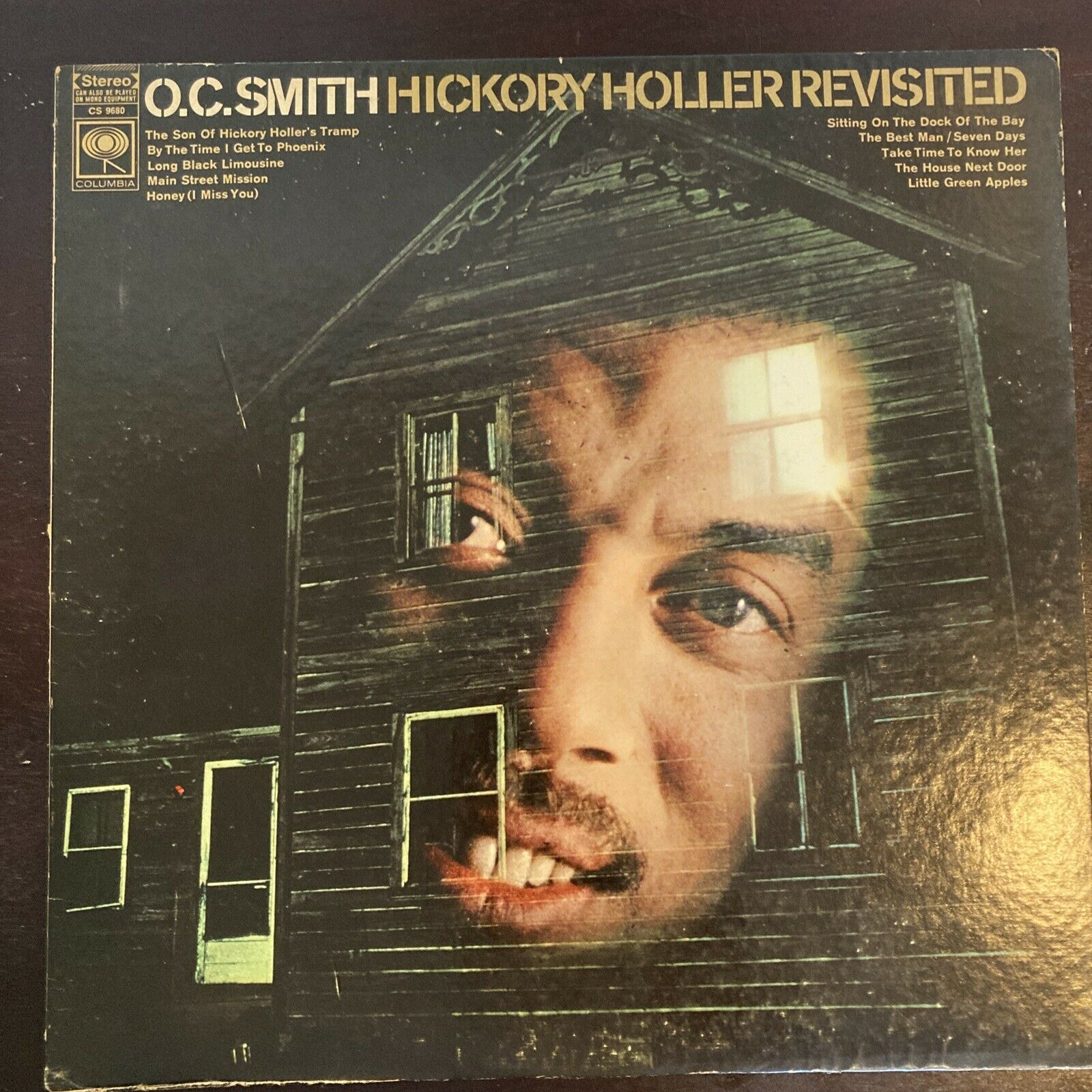 O.C. Smith Hickory Holler Revisted LP 1st US 1D/1D 2-eye Soul Funk Shrink NICE