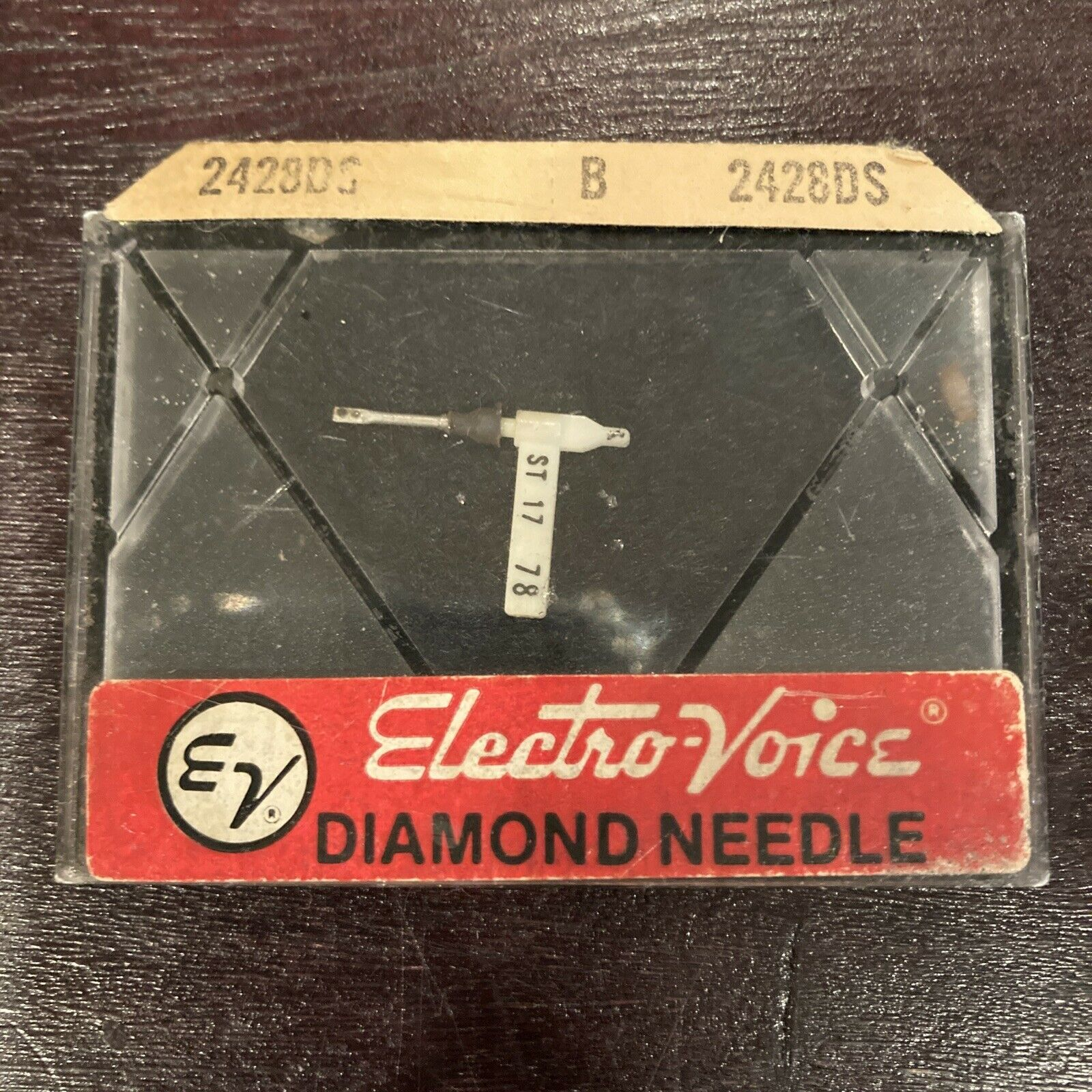 Electro-voice EV diamond needle 2428ds New Old stock