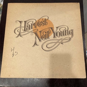 Neil Young - Harvest / 1st pressing - Sterling LH - MS-2032 - LYRIC SHEET VG++