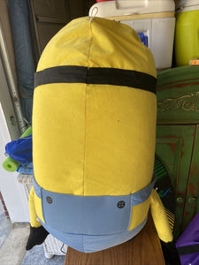 "Life Size Minion Hero Kevin Plush Stuffed Toy Minions Movie 30"" Jumbo With Tag"