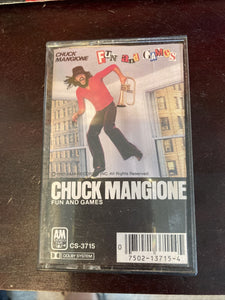 Chuck Mangione Fun & Games 1980 Vintage Cassette Tape Pina Colada Smooth Jazz