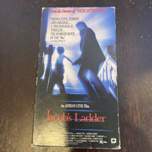 Jacobs Ladder (VHS, 1994) 1990 Adrian Lyne Psychological Horror Tim Robbins