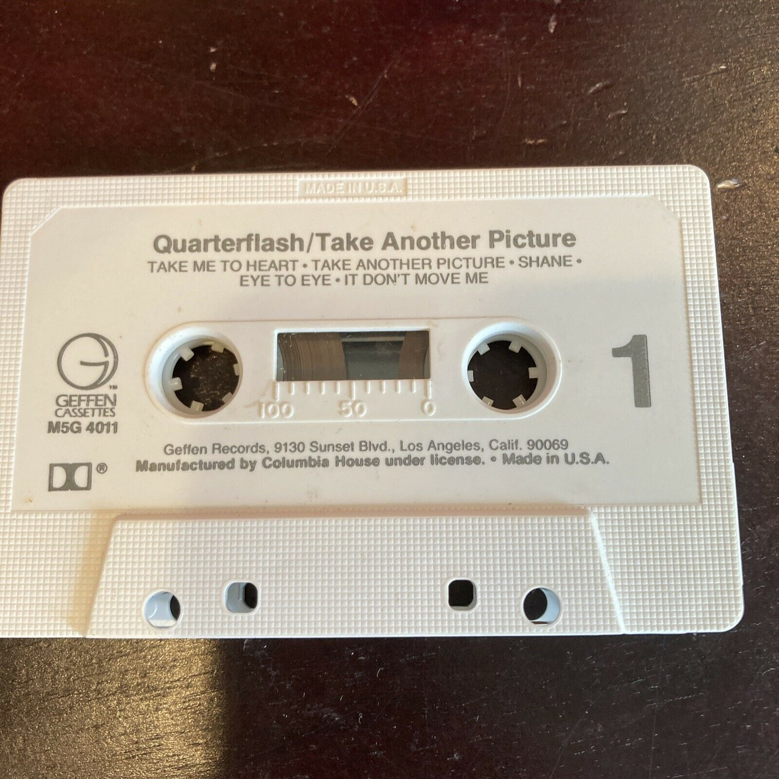 Quarterflash Take Another Picture Vintage Cassette 80s Classic Rock New Wave