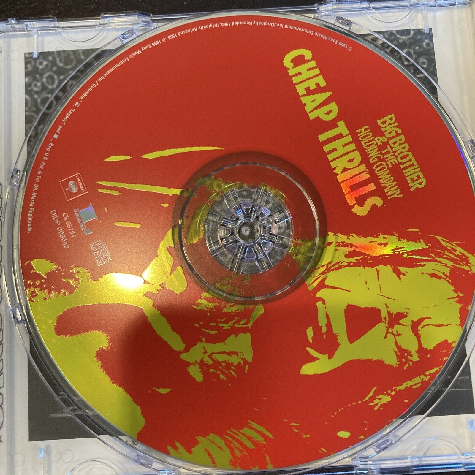 Big Brother & the Holding Company - Cheap Thrills Very Good Nice Disc
