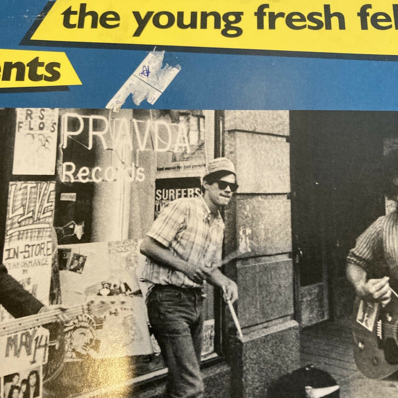 "THE YOUNG FRESH FELLOWS - REFRESHMENTS LP - 45rpm, 12"" VINYL Frontier FRT 105"