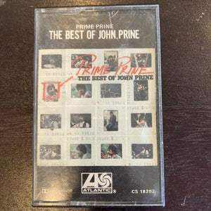 Prime Prine, The Best Of John Prine (Cassette Tape) 1976 Atlantic Bluegrass Folk