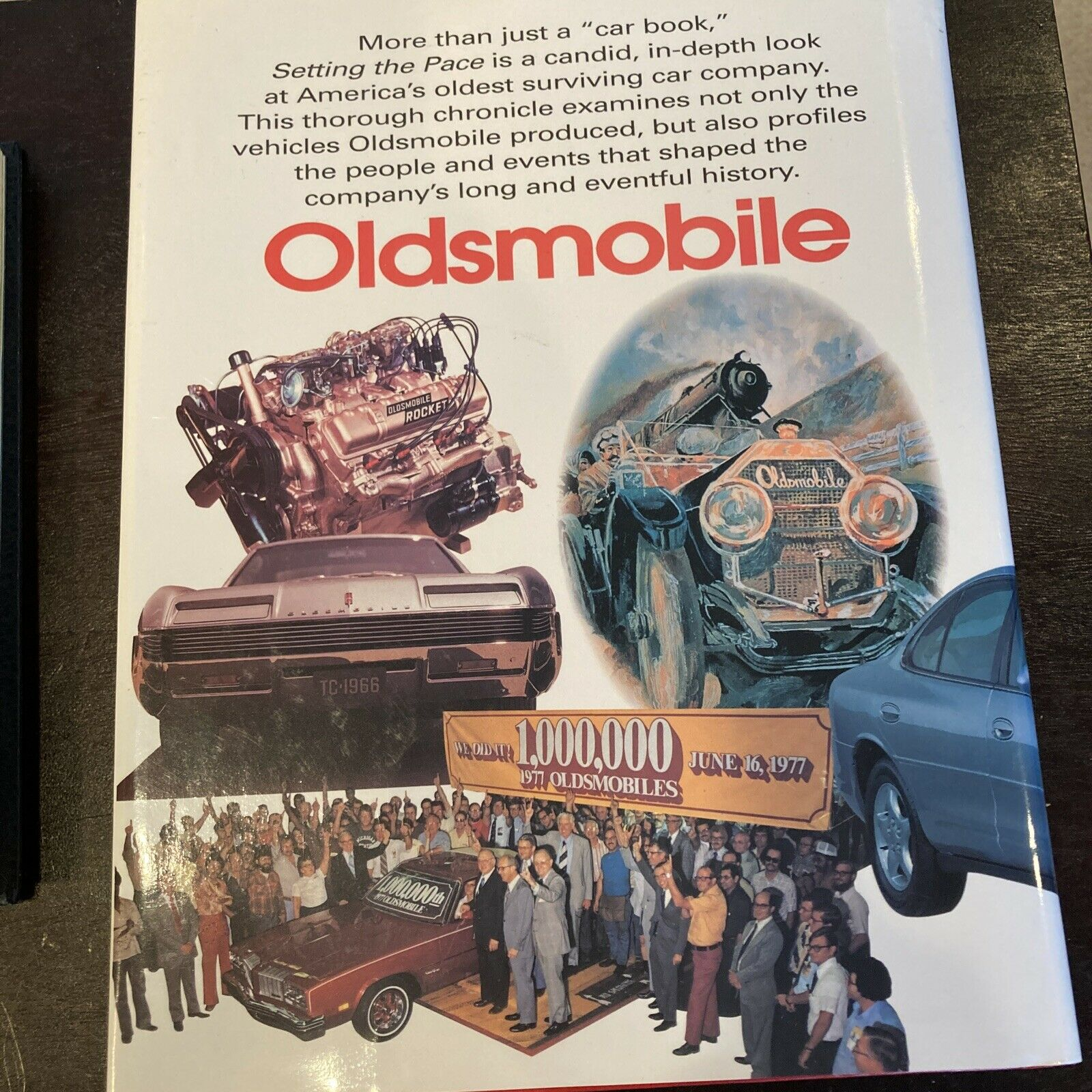 Oldsmobile's First 100 Years & GM The First 75 Years of Transportation Book Lot