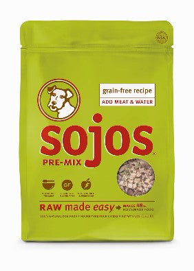 Sojos® Pre-Mix Grain-Free Dog Food