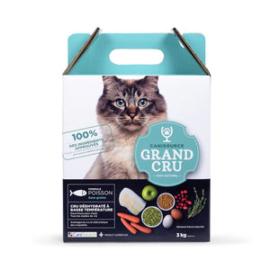 CaniSource pour chat, poisson sans grain