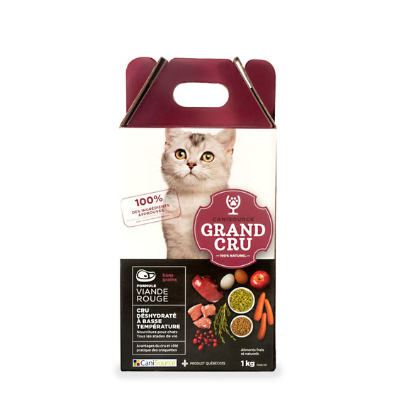 CaniSource pour chat, viande rouge
