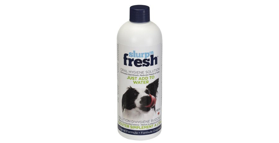 Solution d'hygiène buccale Slurp N Fresh 400ml