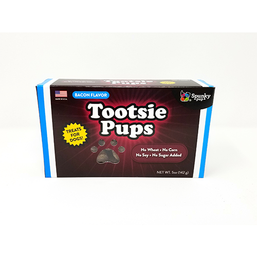 Gâteries pour chiens Tootsie Pups Bacon 5oz