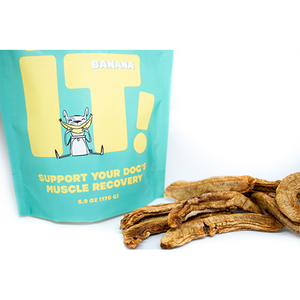 Gâteries pour chiens Snack IT - Banane 150g