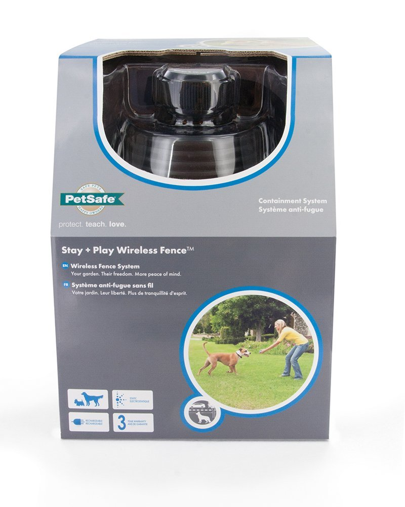 petsafe stay and play anti fugue sans fil