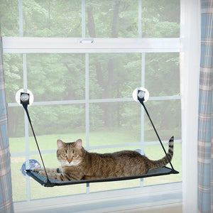 Lit suspendu pour chat Kitty Still Ez Window Mount