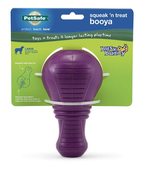 Jouet interactif Busy Buddy Squeak 'n Treat Booya