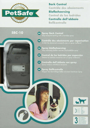 Collier anti aboiement à jet deluxe PetSafe SBC-10