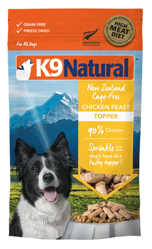 K9 Natural Toppers au poulet 100g