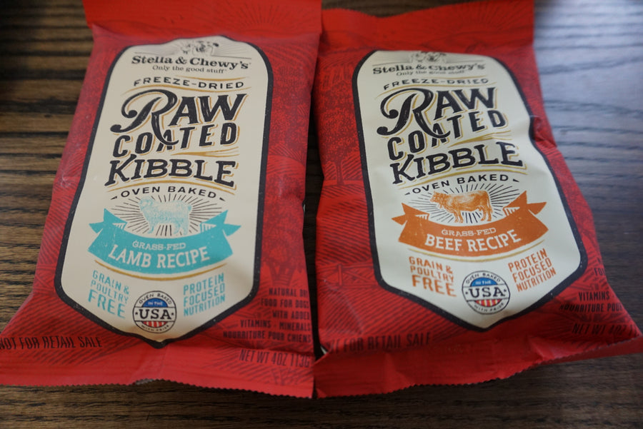 Stella & chewy's raw coated sample