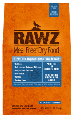Rawz® Grain Free Fish Dry Dog Food