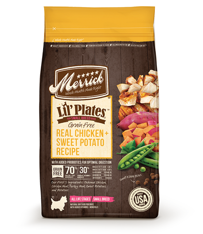 Merrick® Lil' Plates™ Grain Free Chicken & Sweet Potato Dry Dog Food