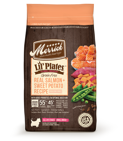 Merrick® Lil' Plates™ Grain Free Salmon & Sweet Potato Dry Dog Food