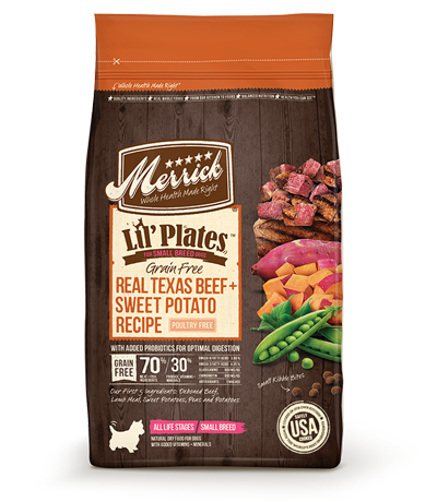 Merrick® Lil' Plates™ Grain Free Texas Beef & Sweet Potato Dry Dog Food
