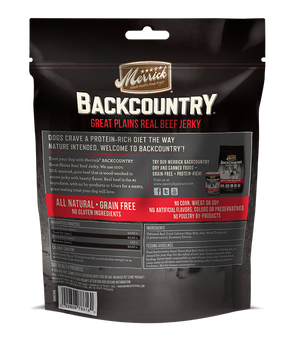 Jerky de boeuf Merrick backcountry