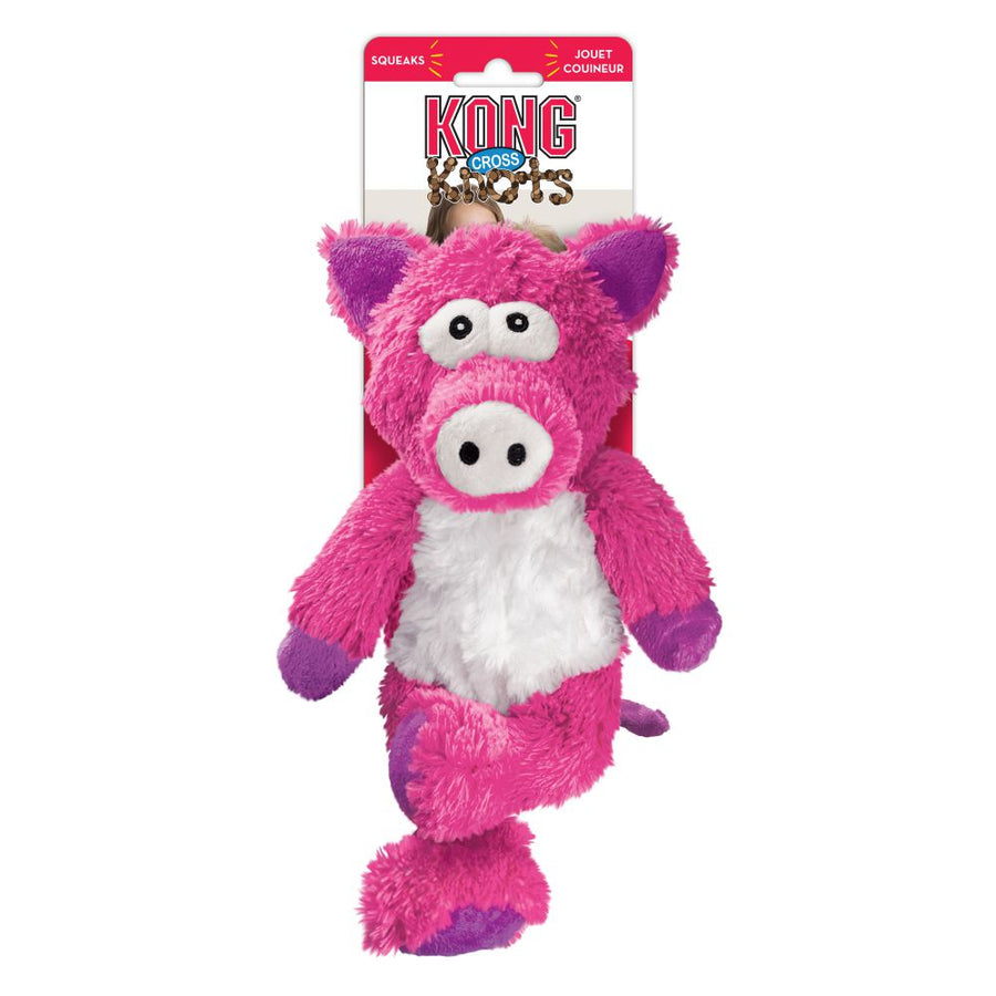 Peluche Kong Cross Knots Cochon