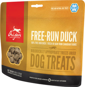 Gâteries Orijen Free-Run Duck 92g
