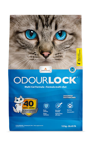 Litière pour chat Intersand OdourLock ultra premium 12KG